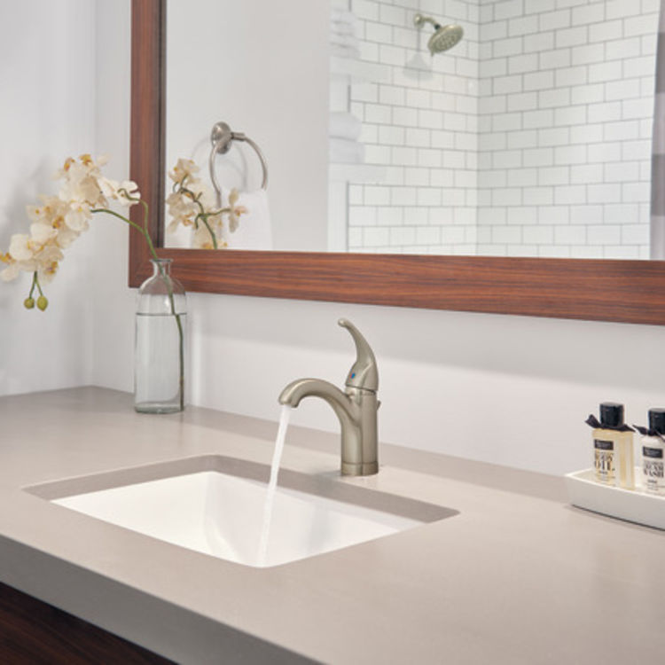 View 4 of Peerless P188624LF-BN Peerless P188624LF-BN TUNBRIDGE One Handle Lavatory Faucet - Brushed Nickel