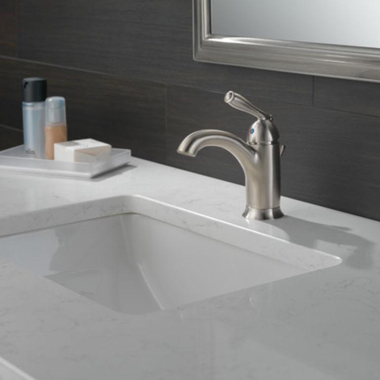View 3 of Peerless P188627LF-BN Peerless P188627LF-BN CLAYMORE Single Handle Lavatory Faucet - Brushed Nickel