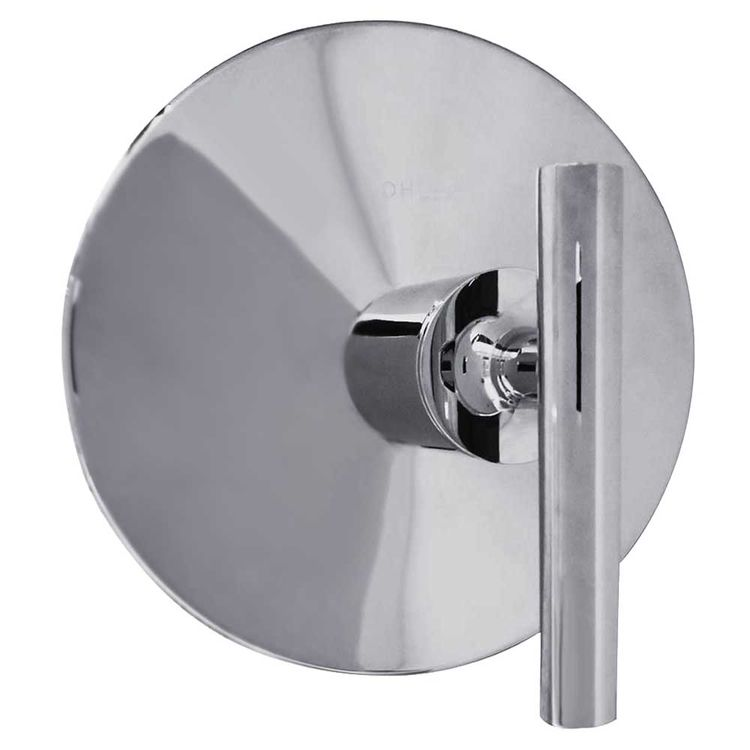 View 3 of Kohler T14488-4-CP Kohler K-T14488-4-CP Polished Chrome Purist Thermostatic Valve Trim