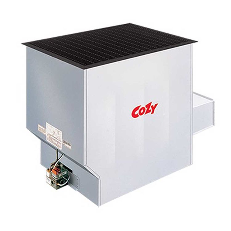 View 3 of Cozy 90N30A Cozy 90N30A Challenger Conventional-Vent Floor Furnace, 30,000 BTU
