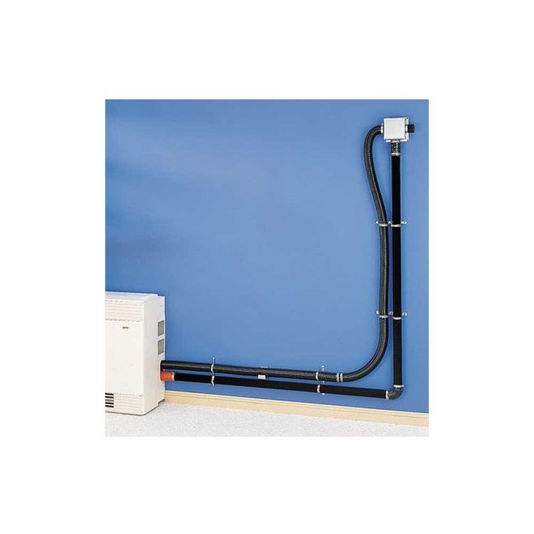 Cozy HEVK5 Cozy HEVK5 5' Hi-Efficient Direct-Vent Wall Furnace Vent/Exhaust Kit