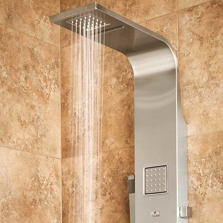 View 4 of Pulse 1034 Pulse 1034 Waimea Oversized Body Jets ShowerSpa, Brushed Stainless Steel