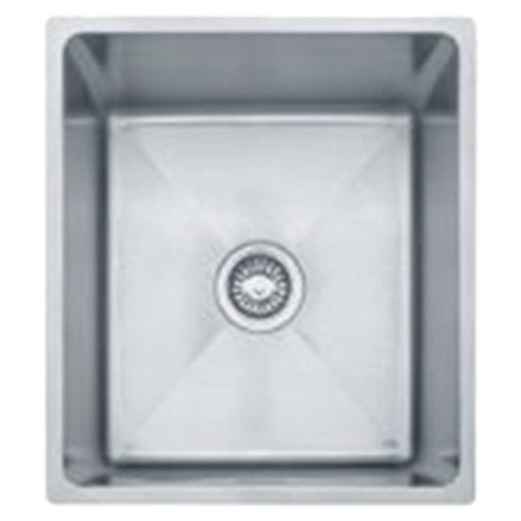 Franke PSX110168 Franke PSX110168 Single Bowl Undermount Stainless Undermount Sink - Stainless