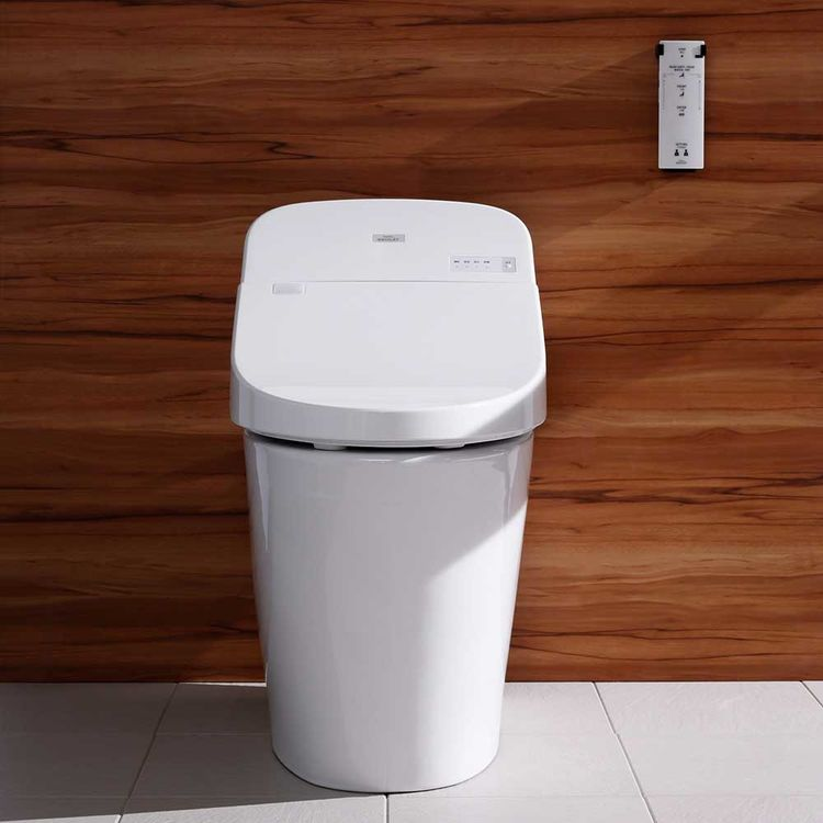 View 3 of Toto MS920CEMFG#12 TOTO WASHLET G400 w/ Integrated Toilet - Sedona Beige, Elongated - MS920CEMFG#12