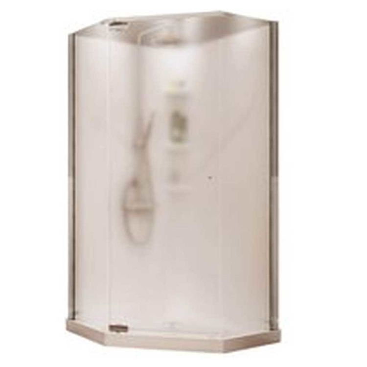 Maax Begonia Pebble 105544 Shower Stall Kit, 36 in L X 36 in W X 72 ...