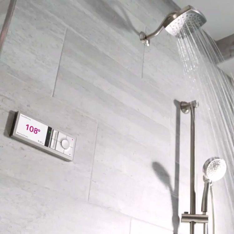 View 5 of Moen TS3302TB Moen TS3302TB U by Moen Digital Shower Controller, Terra Beige