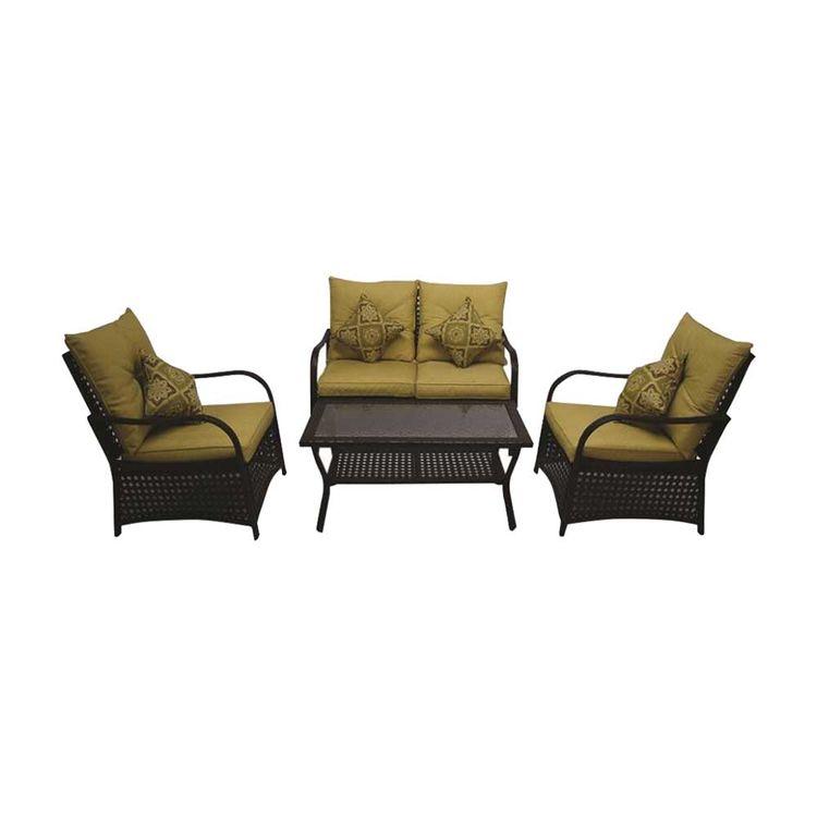 Seasonal Trends 69338 Bond 69338 Wicker Design Patio Furniture Set