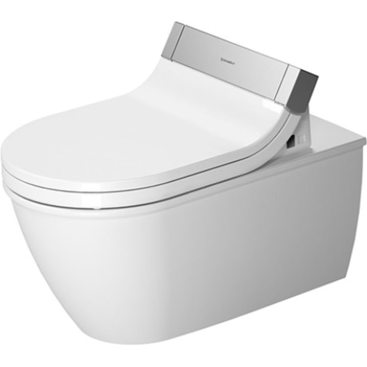 Duravit 25445900921 Duravit 25445900921 Darling New Dual Flush Two-Piece Wall Mounted Elongated Toilet - White
