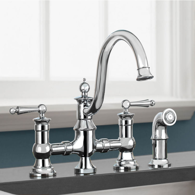 High Arc Kitchen Sink Faucet With Filter