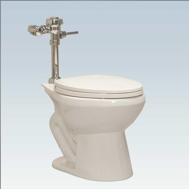 View 3 of Western Pottery ULF-432 Western Pottery ULF 432 White Elongated Flush Valve Toilet