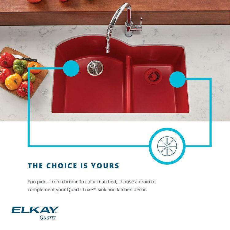 View 5 of Elkay LKQD35CH Elkay Polymer 3-1/2