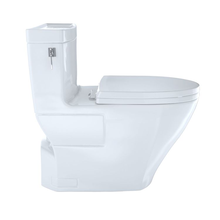 View 3 of Toto MS626124CEFG#11 Toto MS626124CEFG#11 Colonial White Aimes Elongated One-Piece Toilet