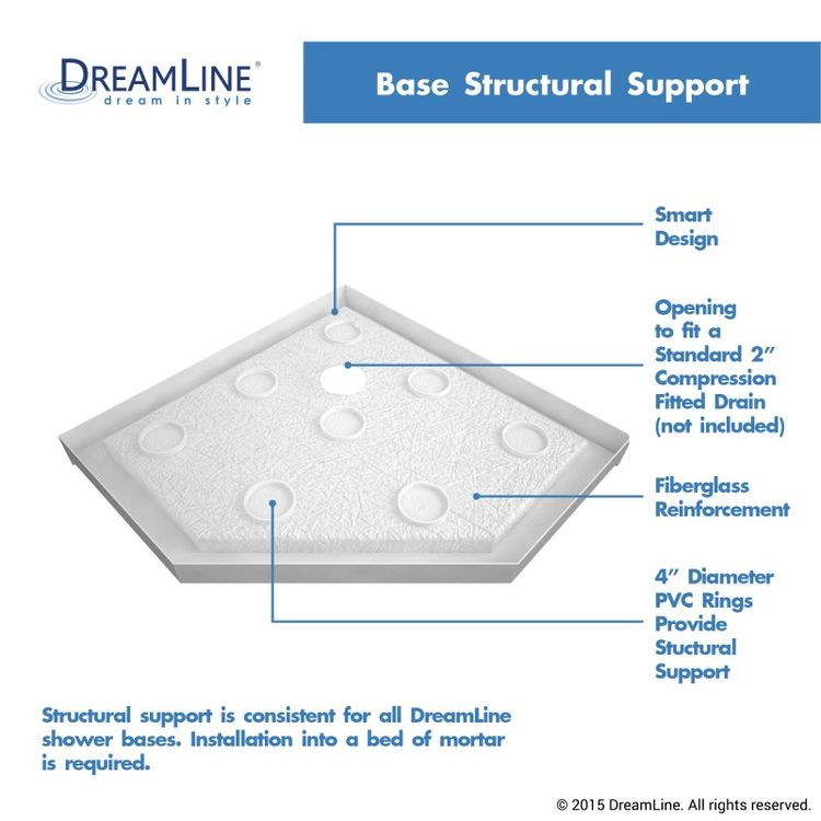 View 14 of Dreamline DL-6051-22-06 DreamLine DL-6051-22-06 Prism Lux 38