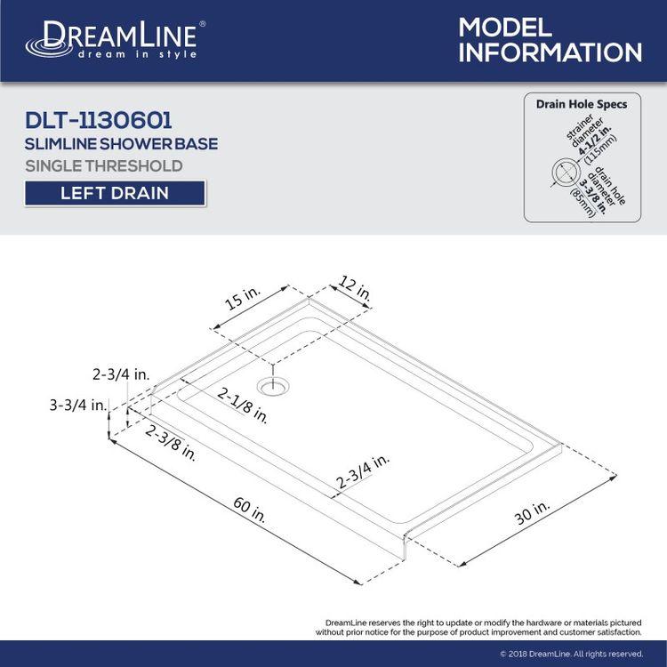 View 35 of Dreamline DL-7004L-22-01 DreamLine Encore 30