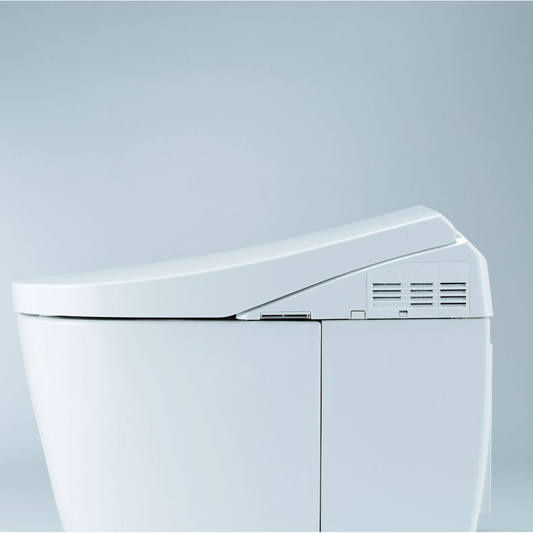 View 10 of Toto MS989CUMFG#01 TOTO MS989CUMFG#01NEOREST AH One-Piece Elongated Toilet w/ Washlet - Cotton White
