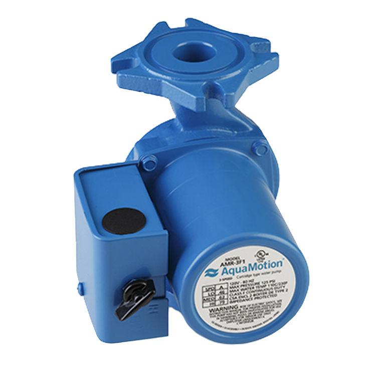 Aquamotion AMR-3F1 AquaMotion AMR-3F1Circulator pump, 3 Speed Less Check Valve, Cast Iron