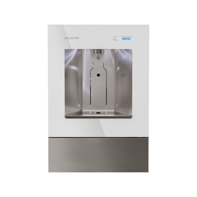 View 5 of Elkay LBWD00WHC Elkay ezH2O Liv Built-in Filtered Water Dispenser, Non-refrigerated, Aspen White - LBWD00WHC