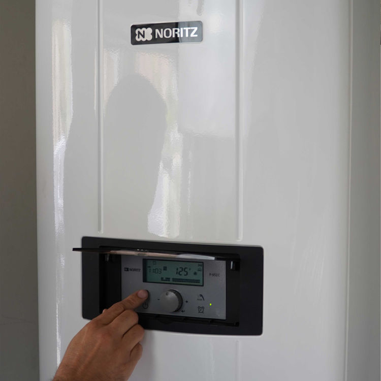 View 3 of Noritz NRCP111-DV-NG Noritz NRCP111-DV-NG Indoor Tankless Water Heater 199K BTU - Direct Vent