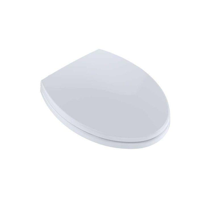 Toto Softclose Elongated Toilet Seat Cotton White Ss114 01