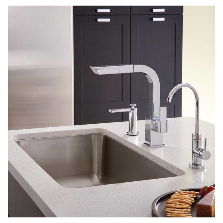 Moen S7597c 90 Degree One Handle High Arc Pull Out Kitchen Faucet Chrome