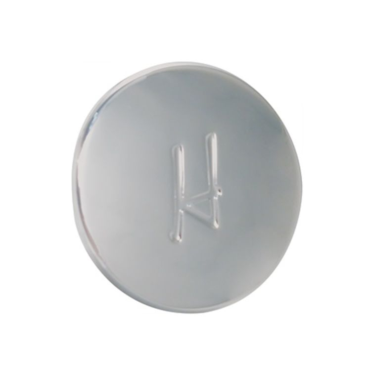 View 3 of Pfister 941-330A Pfister 941-330A 01 Series Index Button (Hot), Polished Chrome