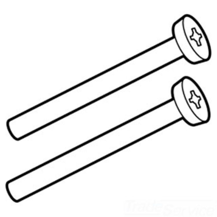 Moen 90478PM Moen 90478PM Part Tub Waste Mounting Screw Face Plate 2