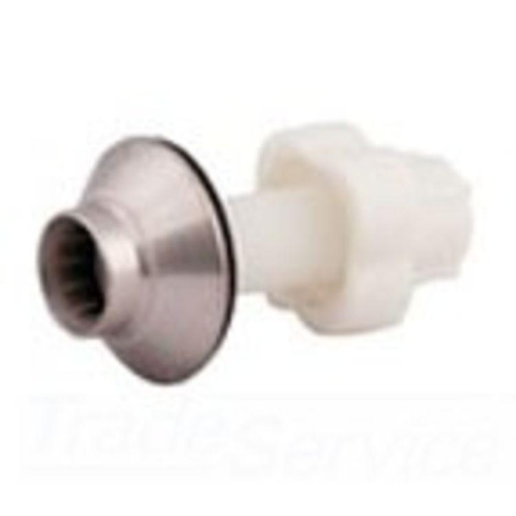 Moen 100005ST Moen 100005ST Monticello Spray Escutcheon & Lock-nut Kit
