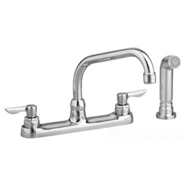 American Standard 6408.140.002 AS 6408.140.002 MONTERREY TWO HANDLE KITCHEN FAUCET CHROME