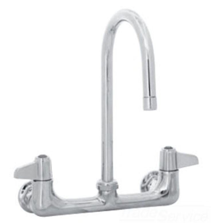 Delta Faucet R2910 Mixlf Commercial Mechanical Mixing: T&S Brass 5F-8WLX05 Equip Faucet