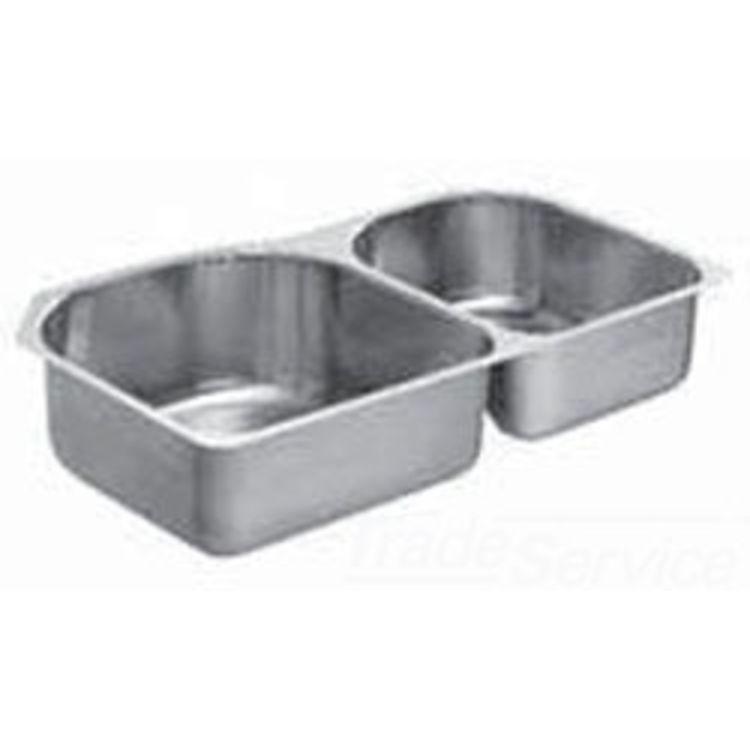 Moen 22543 Moen 22543 Part Template/ Installation Sheet Undermount Sink L18X18 R