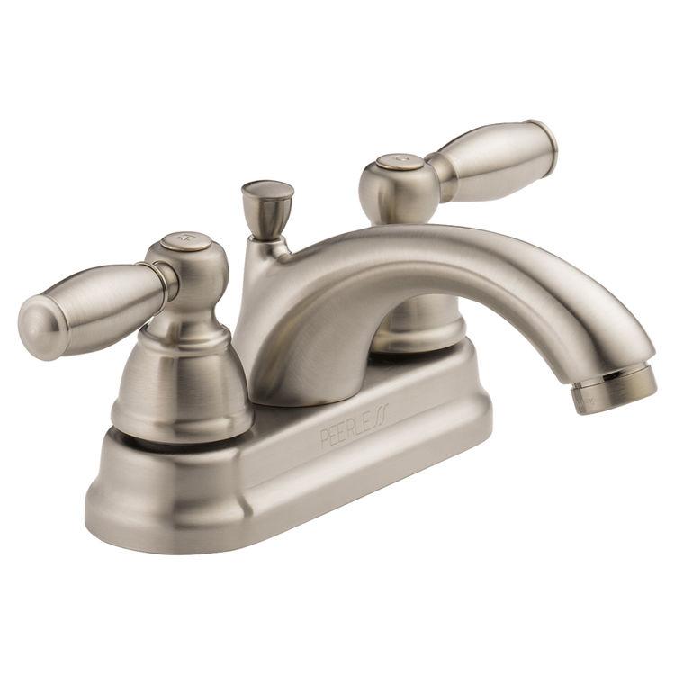 Peerless P299675lf Bn Two Handle Lavatory Faucet Plumbersstock