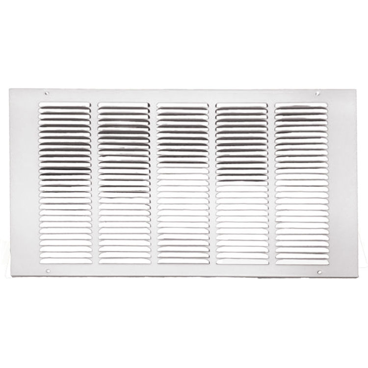 18x30 Soft White Return Air Grille Stamped From Cold Roll