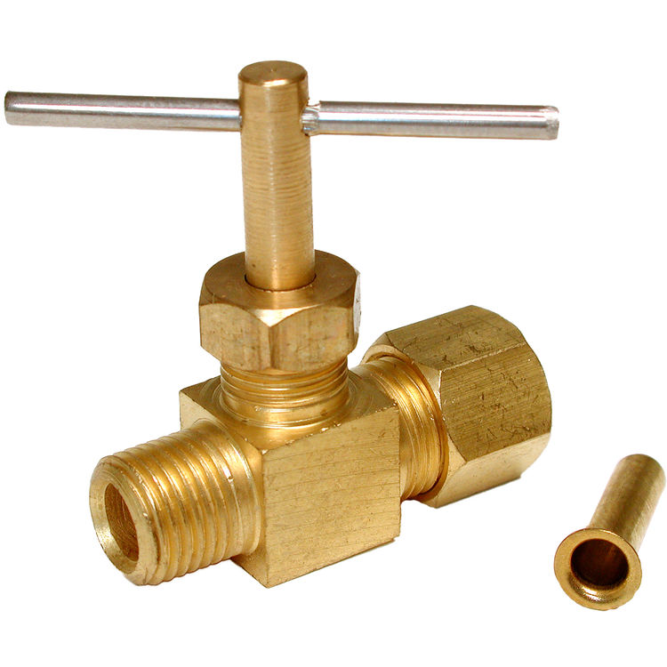 Dial 9421 Straight Needle In Line Water Shut Off Valve
