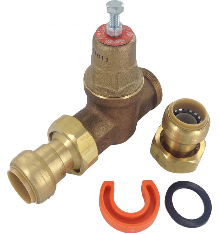 cash acme 22929 0045 1 eb 45 sharkbite pressure valve sharkbite union connection plumbersstock. Black Bedroom Furniture Sets. Home Design Ideas