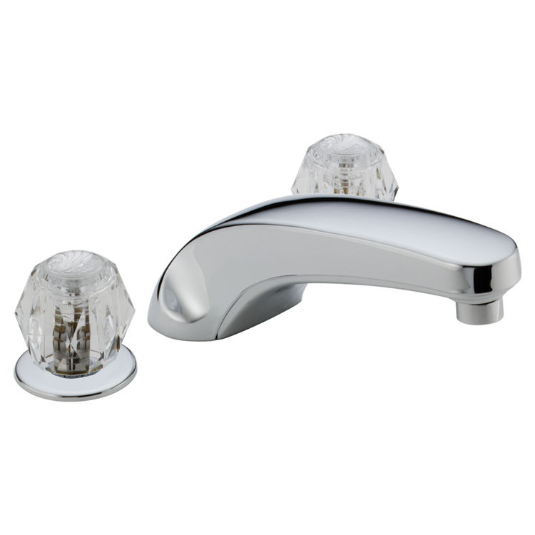 Delta T2710 Chrome Classic Roman Tub Faucet Trim Plumbersstock