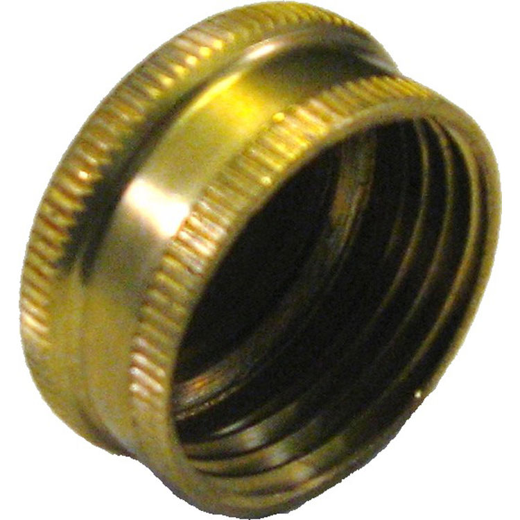 34 Female Garden Hose Thread Cap PlumbersStock