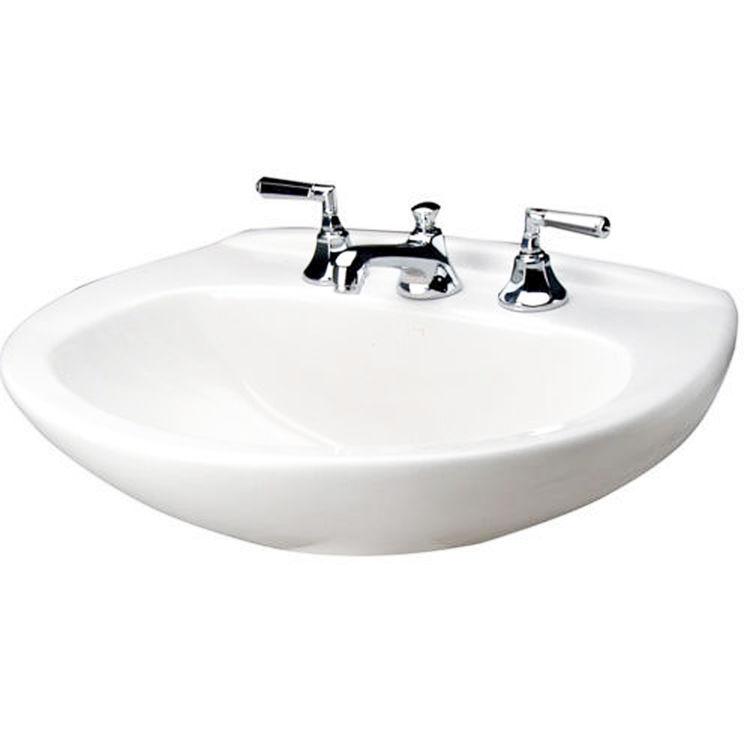 Mansfield Sinks Pedestal : ... Mansfield Plumbing Mansfield Alto IV White 4