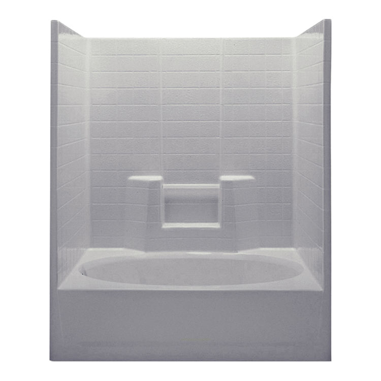 Aquatic Industries 2603OCSR ST Sterling Silver 60 X36 X72 Tub