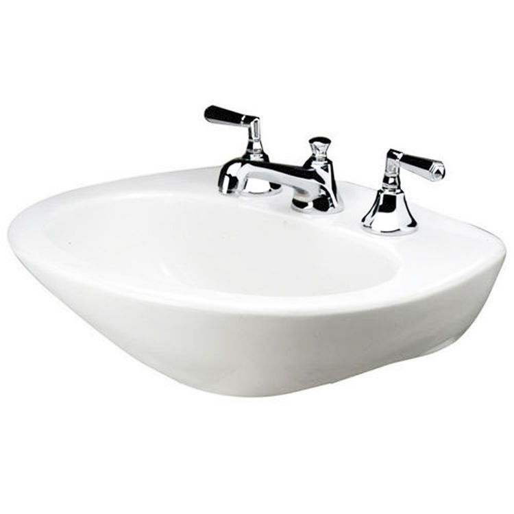 Mansfield Sinks Pedestal : ... Mansfield Plumbing Mansfield West Hampton White 8