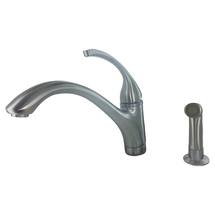 Kohler Forte Kitchen Faucet Parts: Kohler K-10416-G Brushed Chrome Forte Kitchen Faucet With