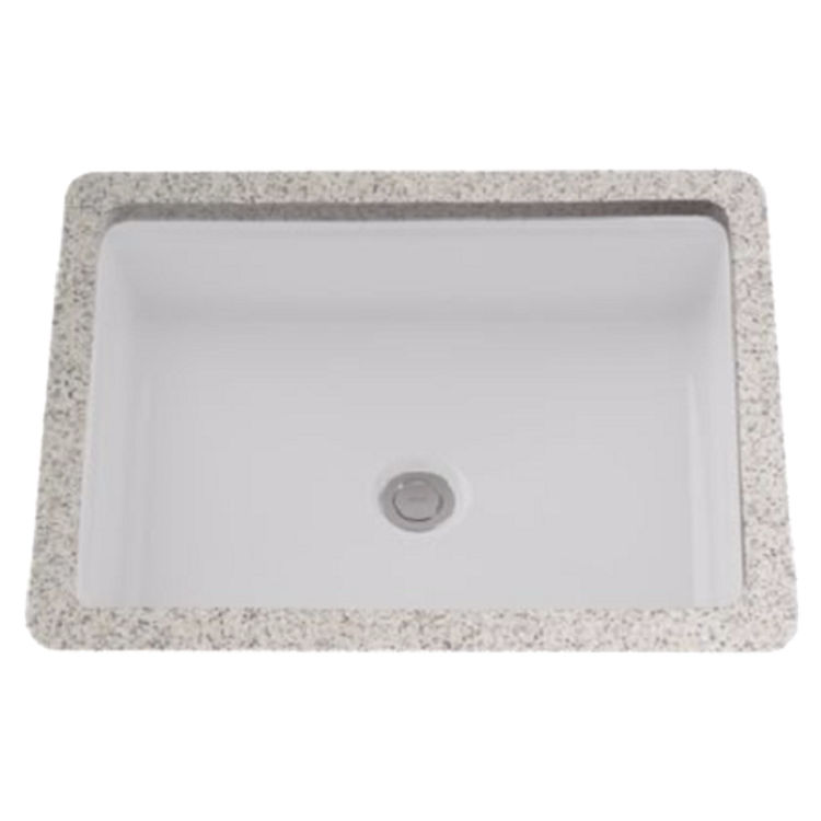 Toto Lt221 01 Cotton White Rectangular Undermount Lavatory