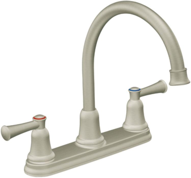 moen cfg ca41611sl capstone series two handle kitchen
