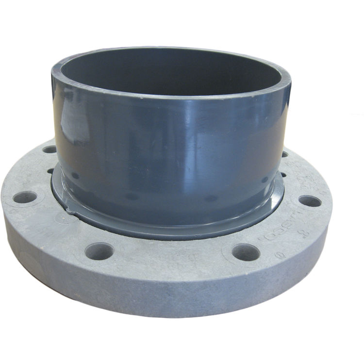 Naco quot pipe flange pvc for pip applications